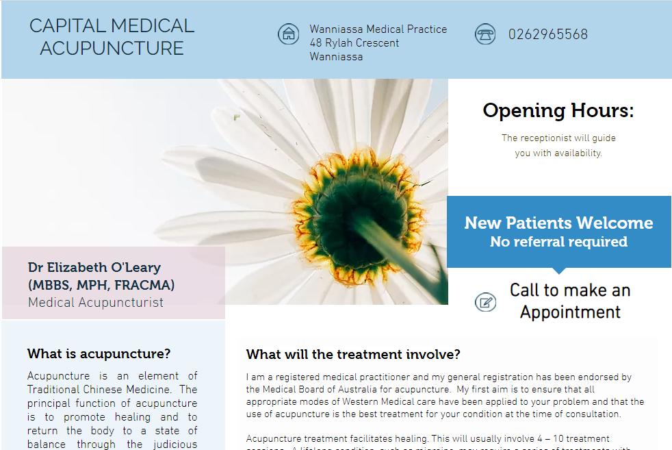 Capital Medical Acupuncture