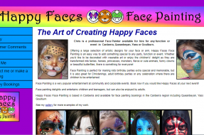 Happy Faces Face Painting