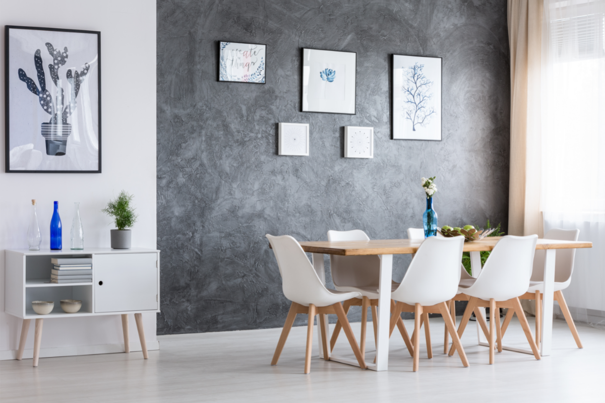 Italian style dining room