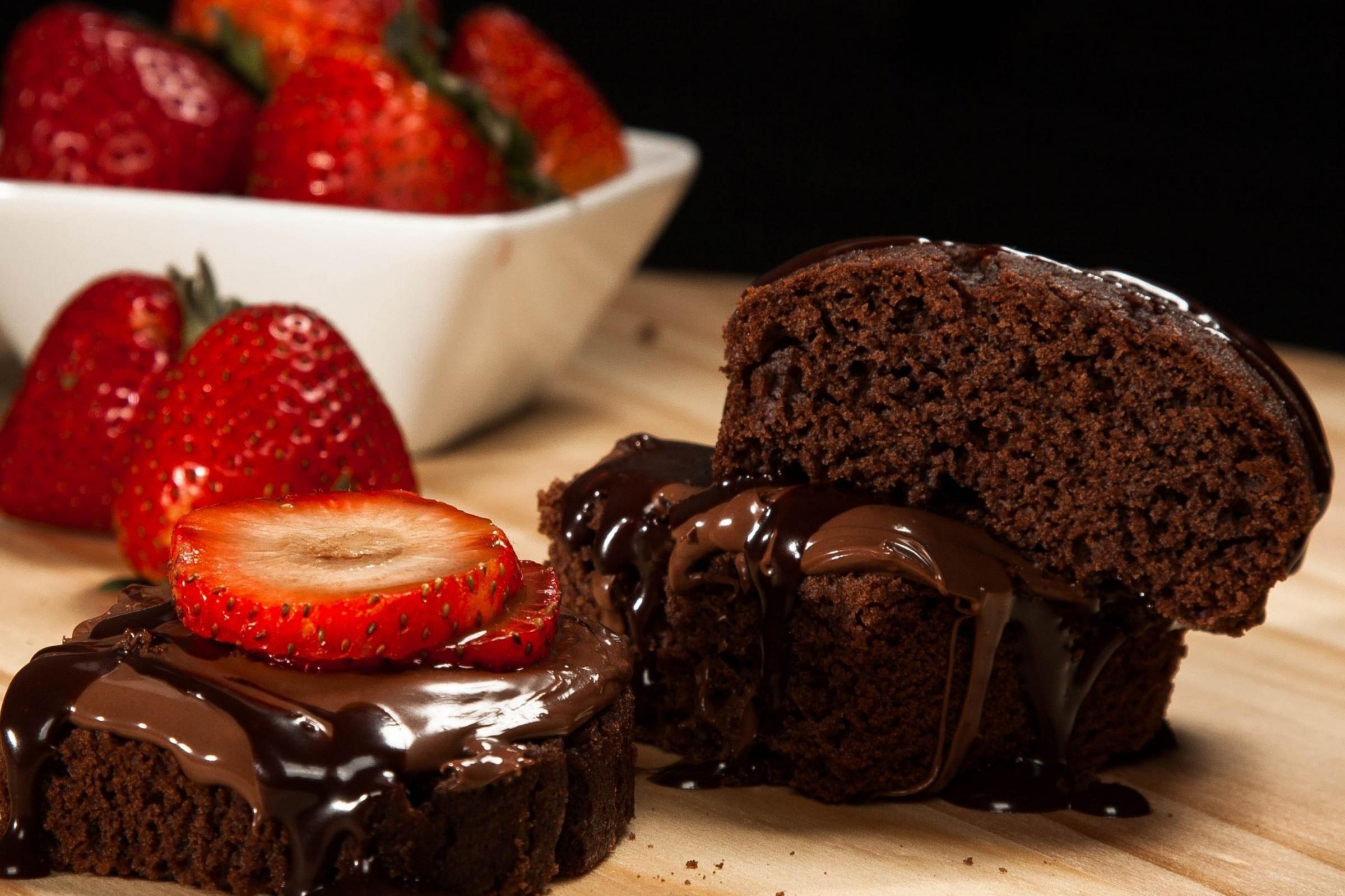 chocolate-cake-making